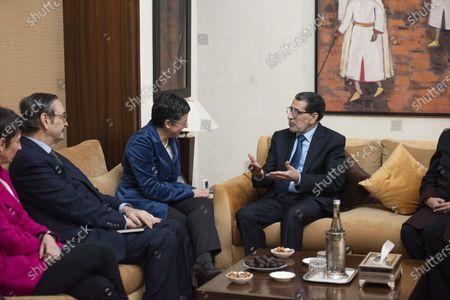 Editorial image of Spanish Foreign Minister Arancha Gonzalez visits Morocco, Rabat - 24 Jan 2020