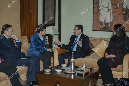 Editorial picture of Spanish Foreign Minister Arancha Gonzalez visits Morocco, Rabat - 24 Jan 2020