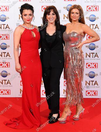 Shona McGarty, Natalie Cassidy and Maisie Smith