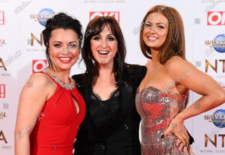 Stock Photo of Shona McGarty, Natalie Cassidy and Maisie Smith
