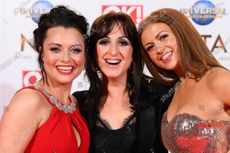 Stock Image of Shona McGarty, Natalie Cassidy and Maisie Smith