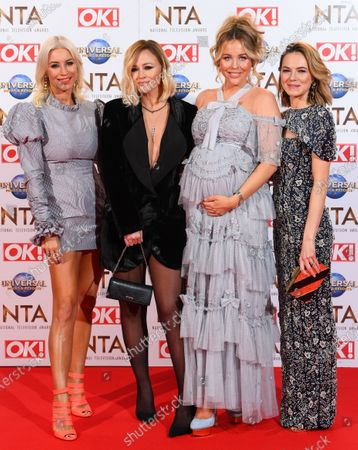 Denise Van Outen, Kimberley Walsh, Lydia Bright and Kara Tointon