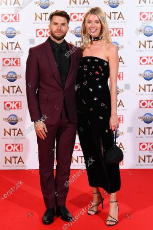 Stock Picture of Joel Dommett and Hannah Cooper