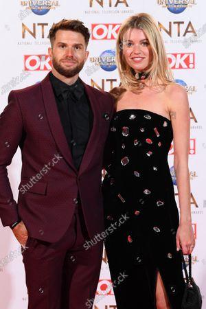 Stock Image of Joel Dommett and Hannah Cooper