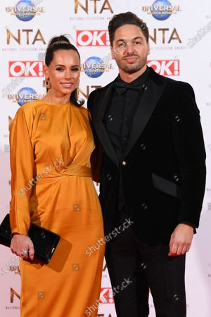 Stock Image of Becky Miesner and Mario Falcone