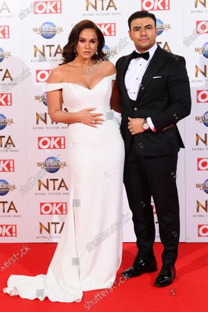 Vicky Pattison and Ercan Ramadan