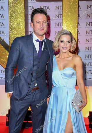 Stock Image of Gary Lucy and Stephanie Waring