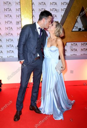 Gary Lucy and Stephanie Waring