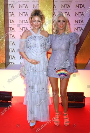 Lydia Bright and Denise Van Outen