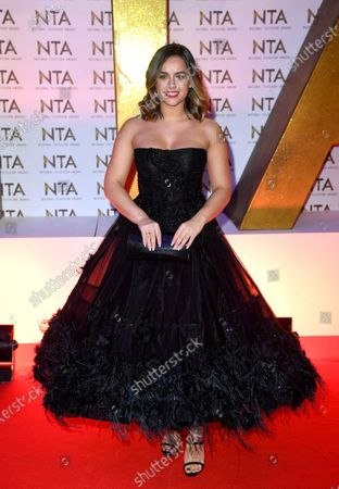 Editorial photo of 25th National Television Awards, Arrivals, O2, London, UK - 28 Jan 2020