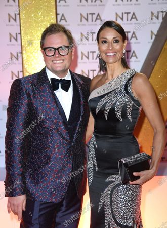 Stock Photo of Melanie Sykes and Alan Carr