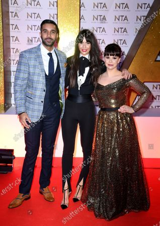 Editorial picture of 25th National Television Awards, Arrivals, O2, London, UK - 28 Jan 2020