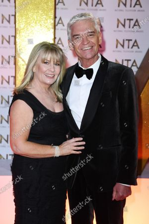 Stock Image of Phillip Schofield and Stephanie Lowe