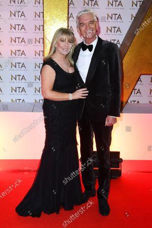 Stock Photo of Phillip Schofield and Stephanie Lowe