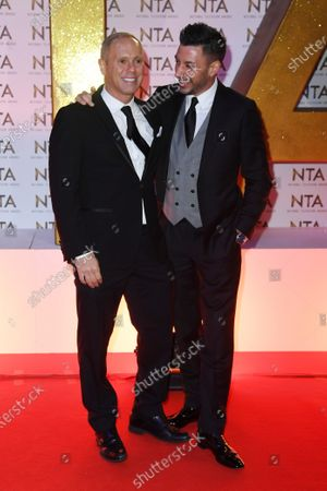 Rob Rinder and Giovanni Pernice