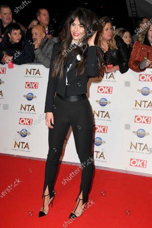 Editorial photo of 25th National Television Awards, Arrivals, O2, London, UK - 28 Jan 2020