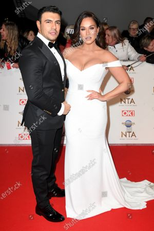 Ercan Ramadan and Vicky Pattison