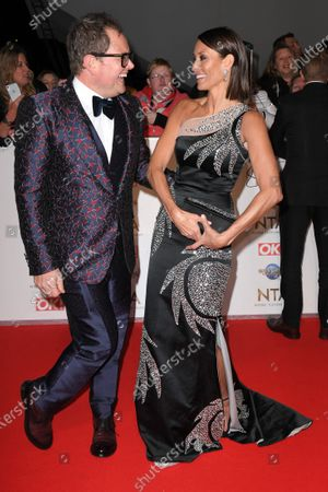 Stock Picture of Alan Carr and Melanie Sykes