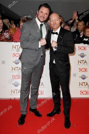 Stock Image of James Bye and Jake Wood