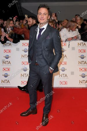 Editorial image of 25th National Television Awards, Arrivals, O2, London, UK - 28 Jan 2020