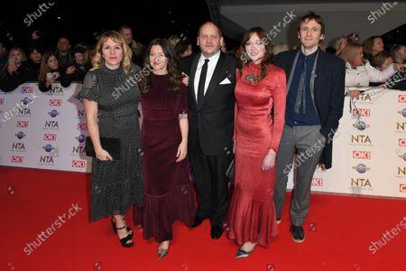 Stock Image of Kerry Goldman, Jo Hartley, Tony Way, Diane Morgan and Tom Basden