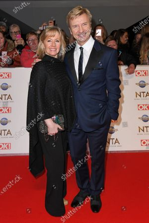 Stock Picture of Karen Barber and Christopher Dean