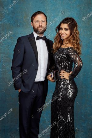 Stock Picture of Exclusive - Andrew Maxwell and Suraya El Wakil