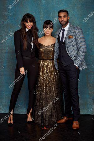 Stock Image of Exclusive - Jennifer Metcalfe, Jessica Fox and Rishi Nair