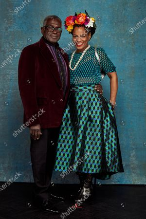 Stock Picture of Exclusive - Rudolph Walker and Dounne Alexander