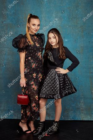 Stock Picture of Exclusive - Kristy Philipps and Anya McKenna-Bruce