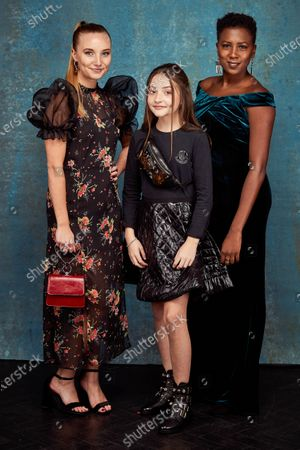Stock Image of Exclusive - Kristy Philipps, Anya McKenna-Bruce and Jade Anouka