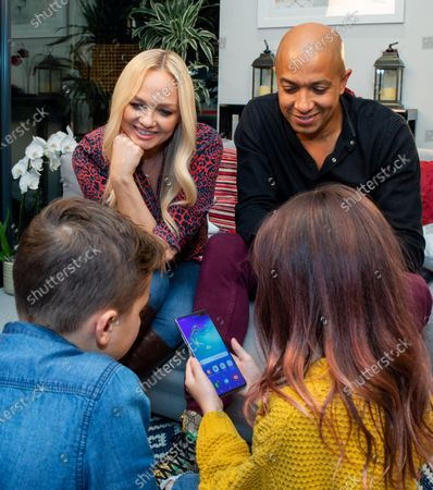 Editorial picture of Emma Bunton signs up to the Vodafone Pledge, London, UK - 24 Jan 2020