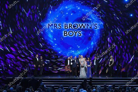 Exclusive - Brendan O'Carroll and Jennifer Gibney - Comedy - 'Mrs. Brown's Boys'