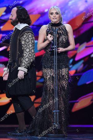 David Mitchell and Katie McGlynn - Serial Drama Performance - 'Coronation Street'