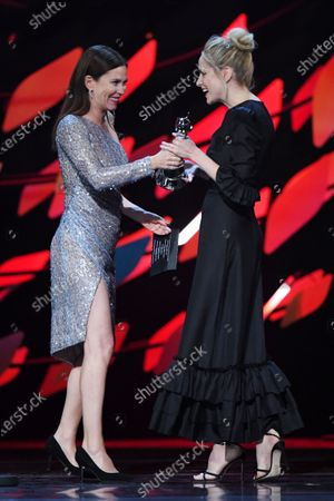 Exclusive - Anna Friel and Sophie Rundle - Drama Performance - Cillian Murphy