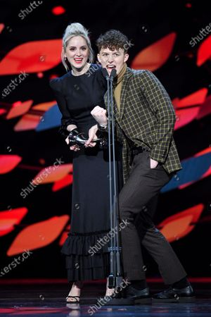 Exclusive - Sophie Rundle and Harry Kirton - Drama Performance - Cillian Murphy