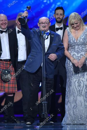 Editorial image of Exclusive - 25th National Television Awards, Show, O2, London, UK - 28 Jan 2020