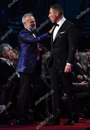 Exclusive - Graham Norton and David Walliams