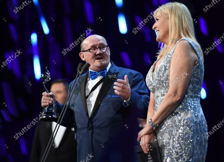Stock Image of Exclusive - Brendan O'Carroll and Jennifer Gibney - Comedy - Mrs Brown's Boys