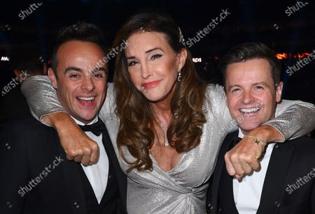 Exclusive - Caitlyn Jenner with Anthony McPartlin and Declan Donnelly