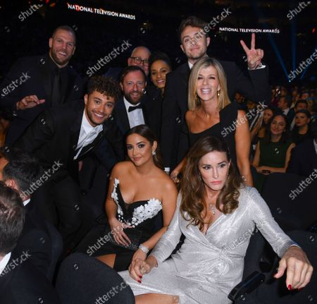 Exclusive - James Haskell, Myles Stephenson, Andrew Maxwell, Cliff Parisi, Adele Roberts, Roman Kemp, Kate Garraway, Jacqueline Jossa and Caitlyn Jenner