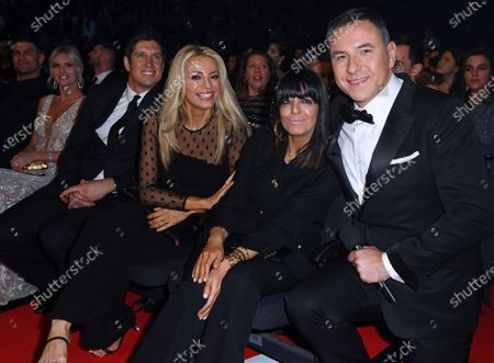 Stock Photo of Exclusive - Vernon Kay, Tess Daly, Claudia Winkleman and David Walliams
