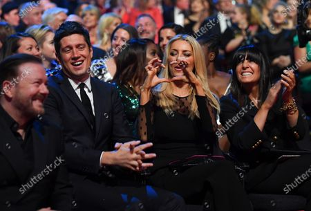 Exclusive - Ricky Gervais, Vernon Kay, Tess Daly and Claudia Winkleman