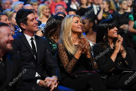 Stock Image of Exclusive - Ricky Gervais, Vernon Kay, Tess Daly and Claudia Winkleman