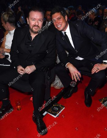 Exclusive - Ricky Gervais and Vernon Kay