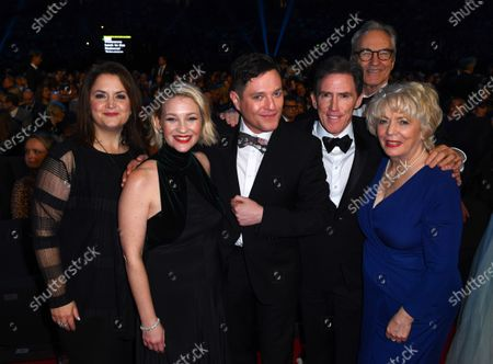 Exclusive - Gavin and Stacey cast - Joanna Page, Mathew Horne, Ruth Jones, Rob Brydon Alison Steadman and Larry Lamb
