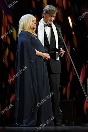 Stock Image of Exclusive - Judy Finnigan and Richard Madden