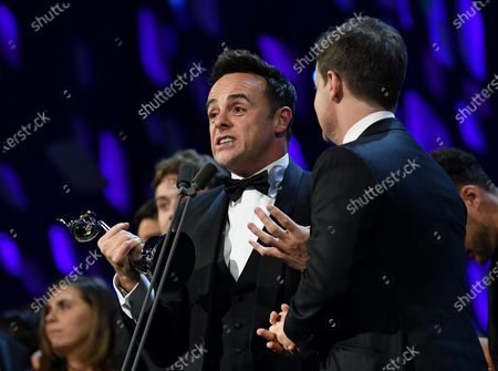 Exclusive - Anthony McPartlin and Declan Donnelly - The Bruce Forsyth Entertainment Award - I'm A Celebrity