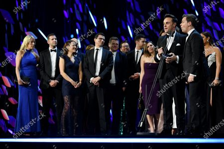 Stock Photo of Exclusive - Anthony McPartlin and Declan Donnelly - The Bruce Forsyth Entertainment Award - I'm A Celebrity
