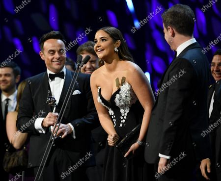 Exclusive - Anthony McPartlin, Jacqueline Jossa and Declan Donnelly - The Bruce Forsyth Entertainment Award - I'm A Celebrity